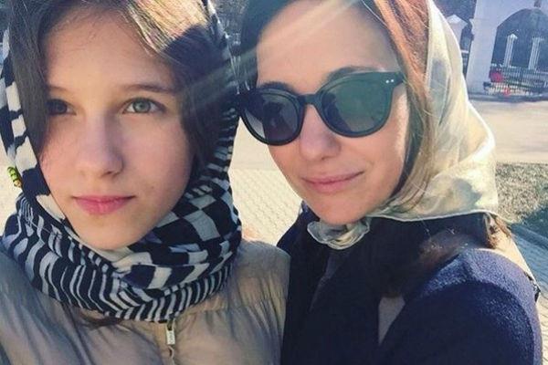 Екатерина Климова крестила маленькую дочь