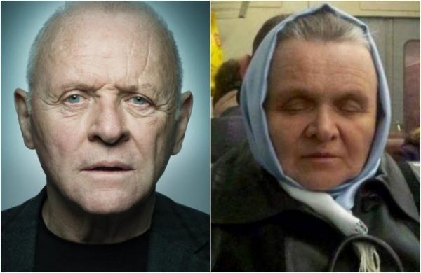 В России снова нашли двойника голливудской знаменитости