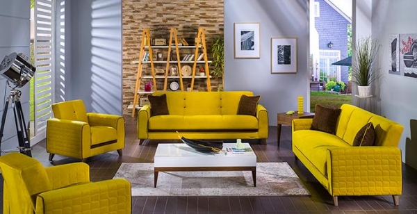 Sofa Color Summer Choose Bright Sofas In The Interior