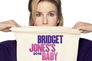 "The heroine of Renee Zellweger and her most famous article of clothing on the poster ""Bridget Jones 3"""