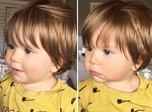 Шакира показала подросшего сына Сашу