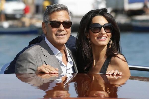 Джордж Клуни впервые рассказал об отношениях с супругой