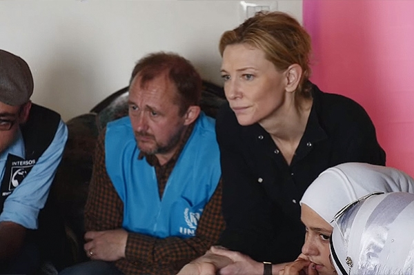 Кейт Бланшетт стала послом доброй воли ООН по делам беженцев