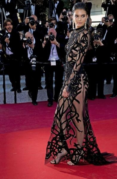 Кендалл Дженнер признана самой эффектной звездой Каннского кинофестиваля