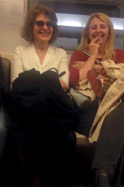 Фанни Ардан спустилась в московское метро