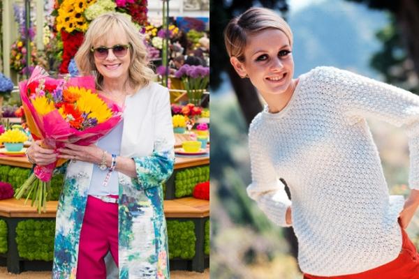 Твигги отметила 50-летие карьеры на цветочном шоу