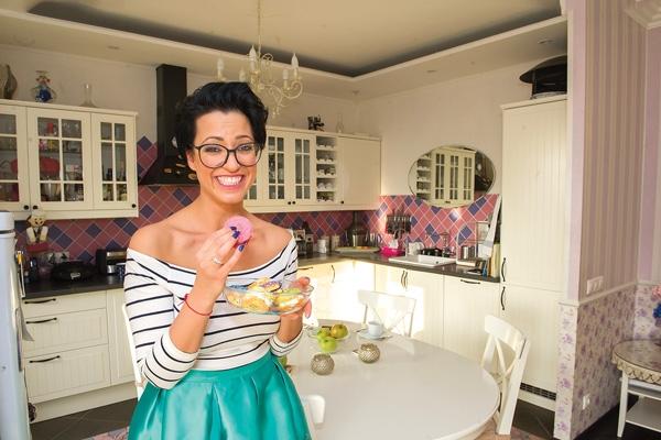 Катя Гершуни показала квартиру с уникальным интерьером