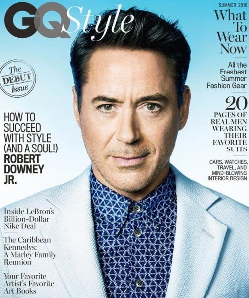 Озорной Роберт Дауни младший украсил обложку GQ Style