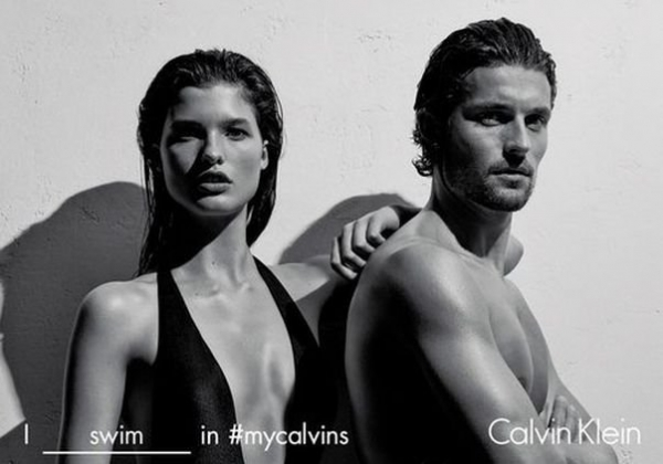 Calvin Klein представил новую коллекцию бикини