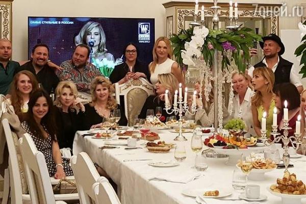 Стас Михайлов отпраздновал день рождения