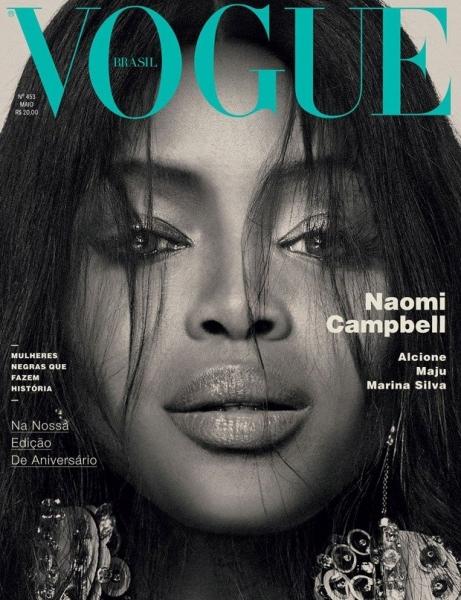 Наоми Кэмпбелл украсила сразу три обложки Vogue