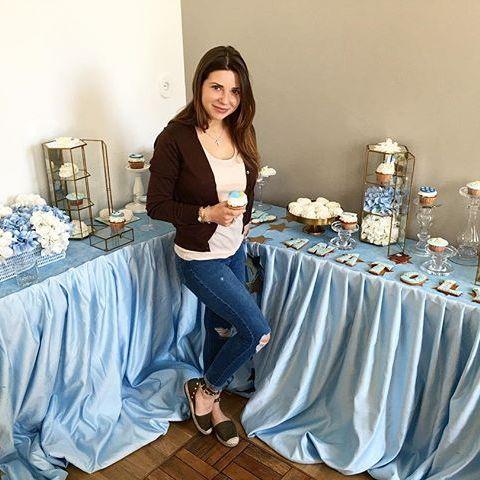 Галина Юдашкина повеселилась на первой вечеринке после родов