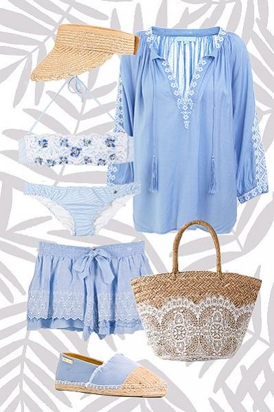 Готовимся к пляжному сезону вместе: чем дополнить купальник на пляже и на вечеринке у бассейна