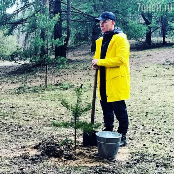 Олег Газманов посадит 27 тысяч деревьев в Москве