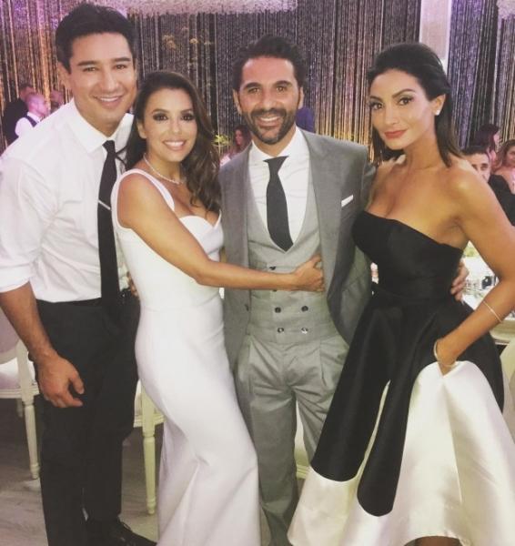Фото со свадьбы Евы Лонгориы попали в сеть