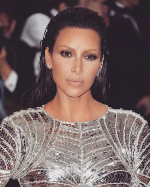 Ким Кардашьян «словила звезду» и потеряла контроль над собой