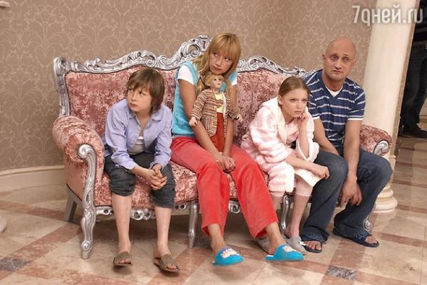 Гоша Куценко показал повзрослевших детей