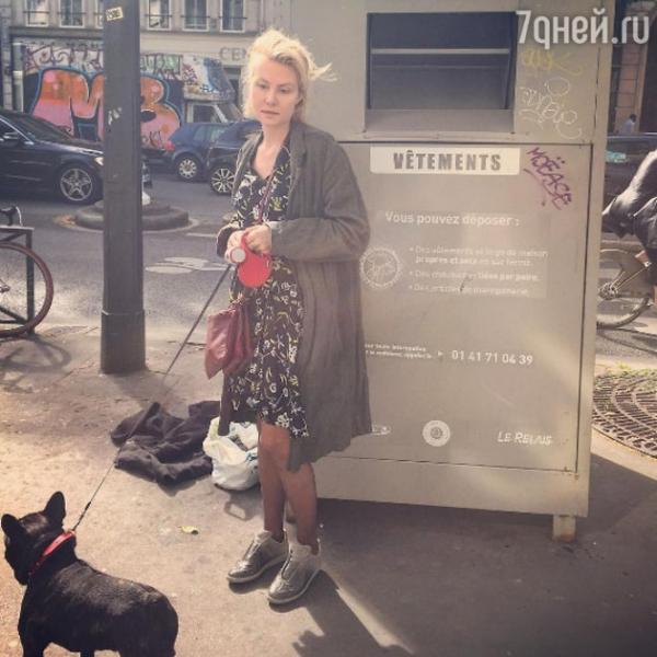 Рената Литвинова показала, как выглядит в повседневной жизни