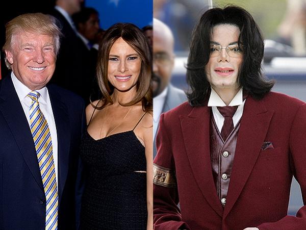 """Мелания Трамп: """"Майкл Джексон предложил мне поцеловаться, чтобы Дональд приревновал"""""""