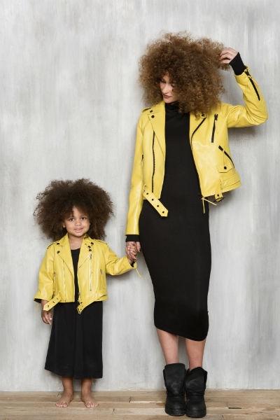 Дочь вдохновила Кэти Топурию на создание детской коллекции одежды