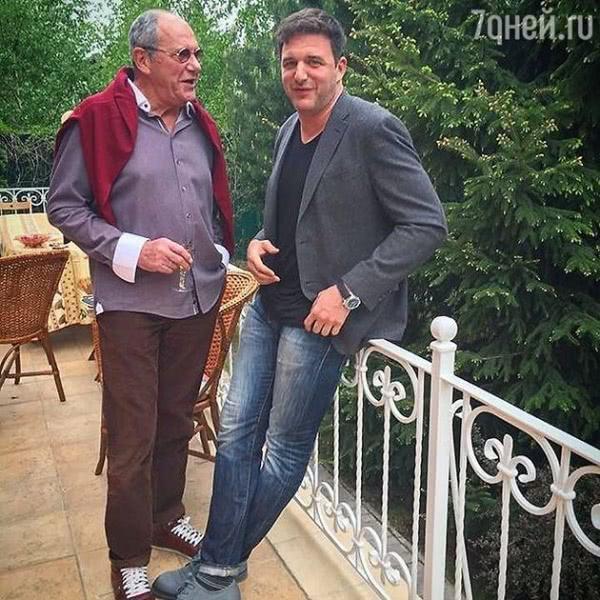 Максим Виторган поделился архивным фото