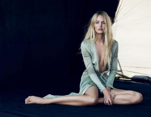 Кэндис Свейнпол стала новым лицом аромата Givenchy