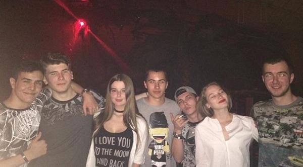 Саша Стриженова погуляла на 18-летии возлюбленного в клубе