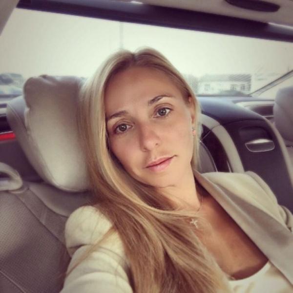 Татьяна Навка упала с гироскутера