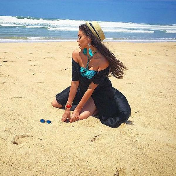 Таня Терешина отрывается с друзьями в Португалии