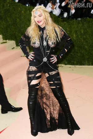 Мадонна объяснила свое скандальное появление на Балу Института костюма