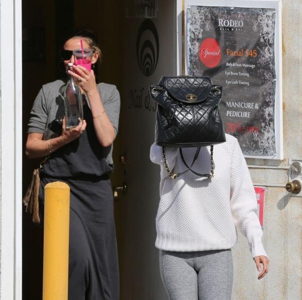 Николь Ричи и Камерон Диаз посетили Спа-салон в Восточном Голливуде