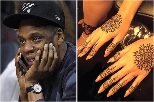Rapper With Z Tattoed On His Face: Beyonce And Jay Z Wedding Tattoo Disappeared