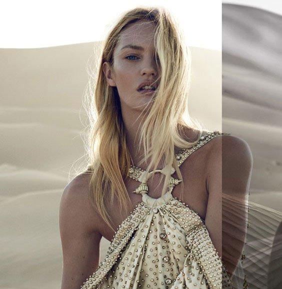 Кэндис Свейнпол стала официальным лицом бренда Givenchy