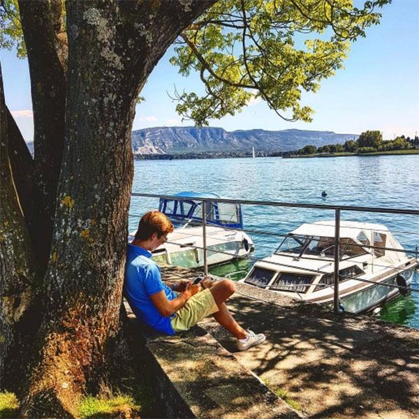 Старший сын Валерии блестяще окончил университет в Женеве