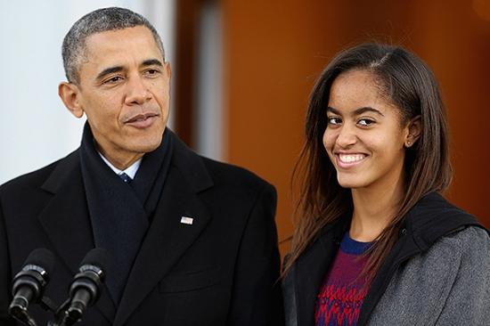 Малия Обама будет отдыхать перед учёбой в Гарварде целый год