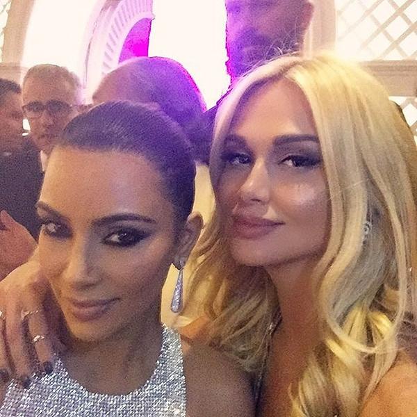 Татьяна Навка подружилась с Ким Кардашьян