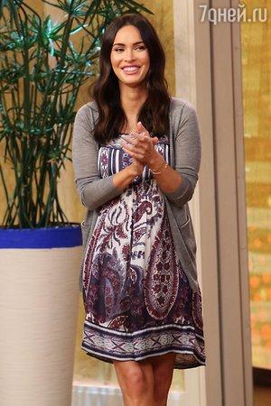 Беременная Меган Фокс рассказала, как опять сошлась со своим мужем