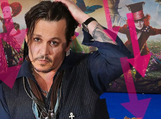 Продажи билетов на «Алису в Зазеркалье» катастрофически упали из-за скандала с Джонни Деппом