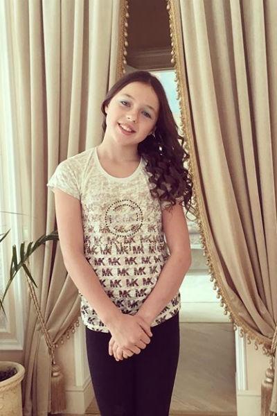 Дочь Анастасии Волочковой начала экспериментировать с макияжем