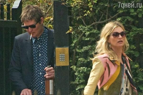 Кейт Мосс вышвырнула своего любовника из дома