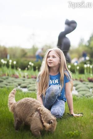 Дочери Глюк'оZы подарили зоопарк