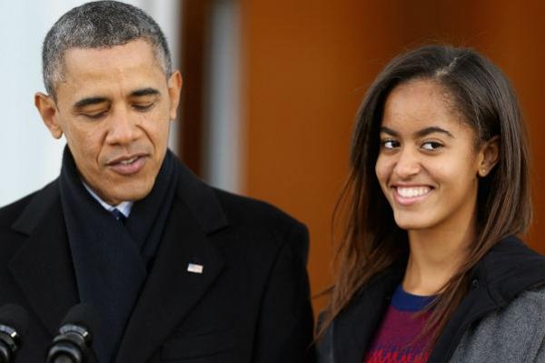 Малия Обама будет год на каникулах: дочь президента США пойдет в Гарвард только в 2017 году