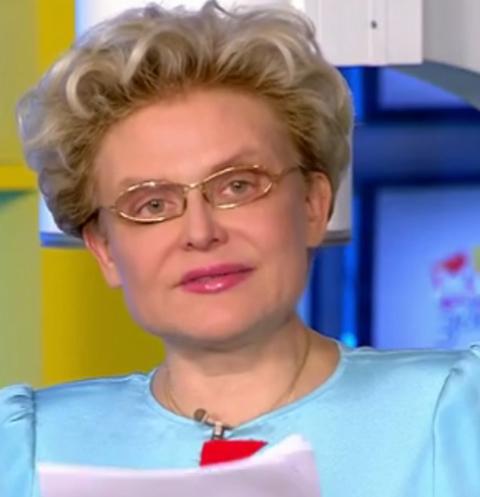 Елена Малышева беспокоится за здоровье внука