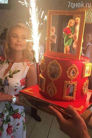 Ксения Новикова отметила два дня рождения
