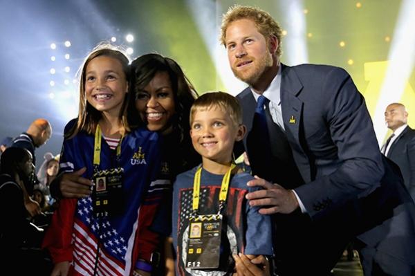 Принц Гарри и Мишель Обама открыли Invictus Games в Орландо