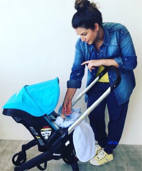 Жасмин рассказала о достижениях новорожденного сына