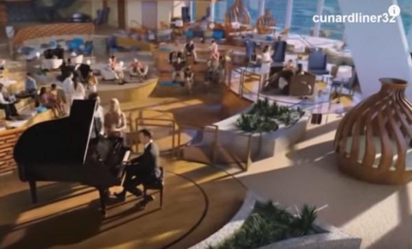 На самом большом в мире лайнере есть свой сад и торговый центр