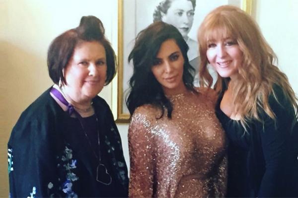 Ким Кардашьян, Канье Уэст и другие на The Vogue Festival в Лондоне