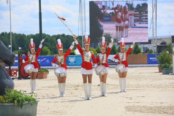 В Москве прошли международные соревнования по конкуру