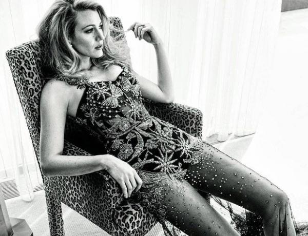 Блейк Лайвли в очаровательной фотосессии для Marie Claire